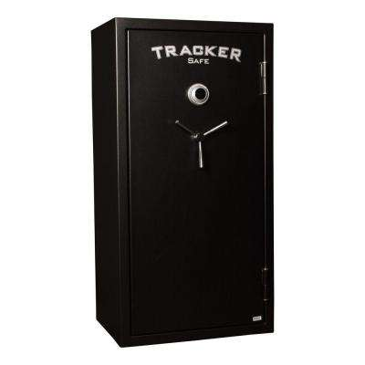 24-Gun Fire-Resistant Combination/Dial Lock, Black Powder Coat