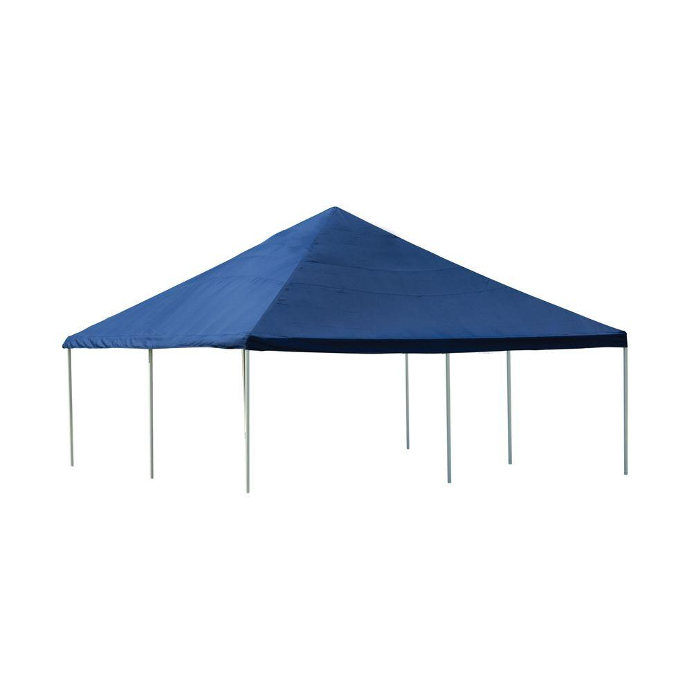 ShelterLogic Super Max 20 ft. x 20 ft. 8-Leg Frame Blue Canopy-25797 - The Home Depot  sc 1 st  The Home Depot & ShelterLogic Super Max 20 ft. x 20 ft. 8-Leg Frame Blue Canopy ...