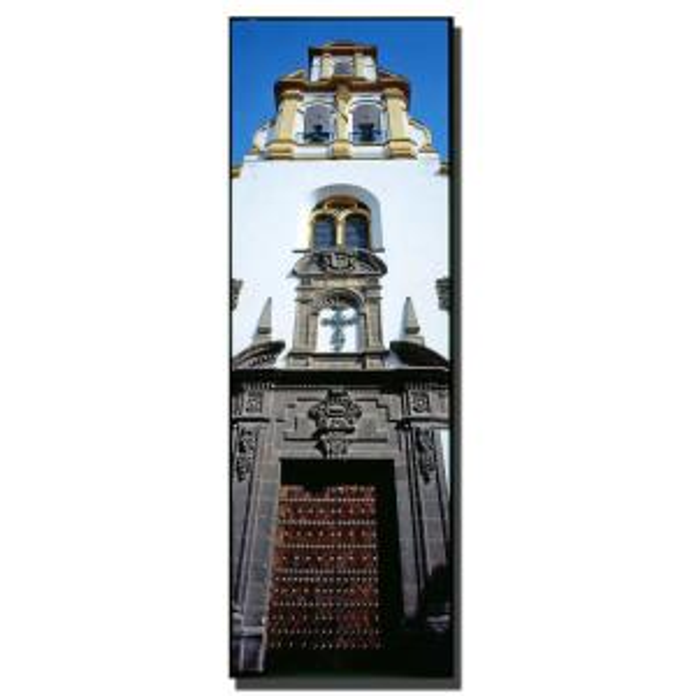 Trademark Fine Art 16 inch x 47 inch Spanish Church Canvas Art by Trademark Fine Art