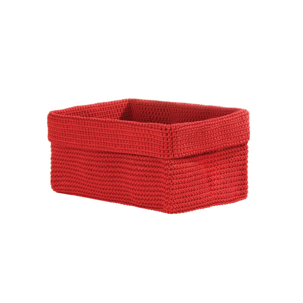 Heritage Lace Mod Crochet Rectangular Polypropylene Basket  sc 1 st  Home Depot & Heritage Lace Mod Crochet Rectangular Polypropylene Basket-MC-1100RR ...