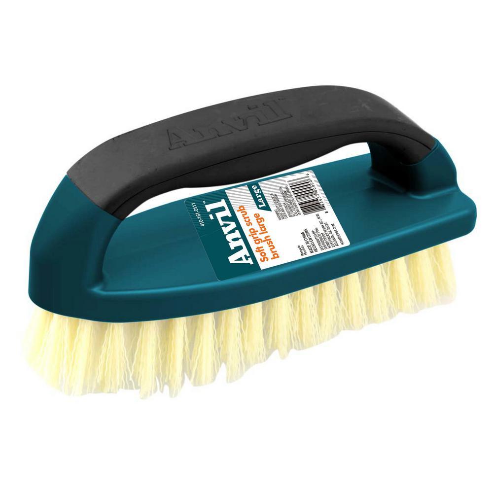 Anvil Large Soft Grip Scrub Brush