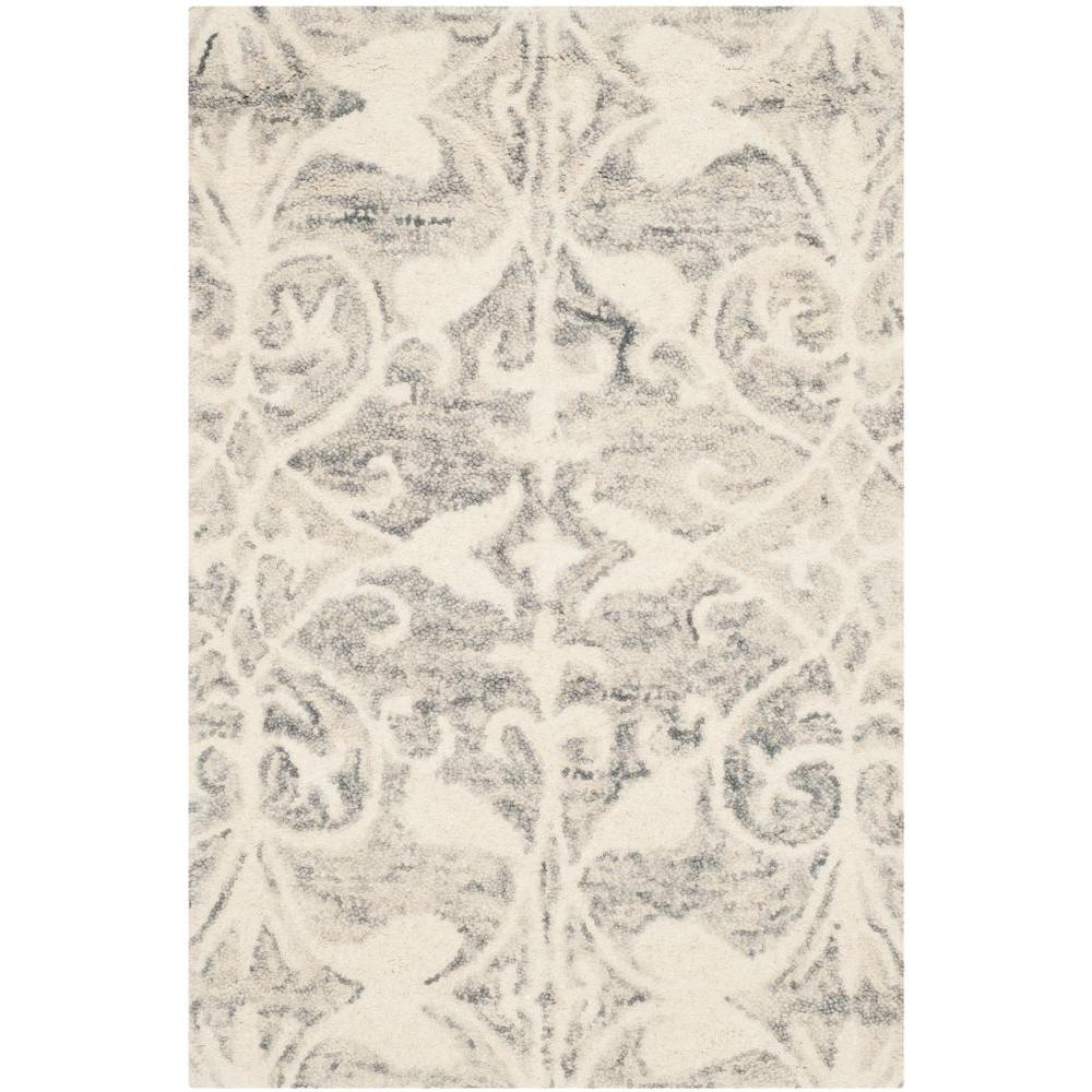Chatham Light Grey/Ivory 2 ft. x 3 ft. Area Rug