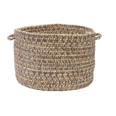 Tweed Storage Round Polypropylene Basket