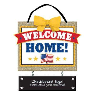 12.5 in. x 10.5 in. Welcome Home Chalkboard Sign (2-Pack)