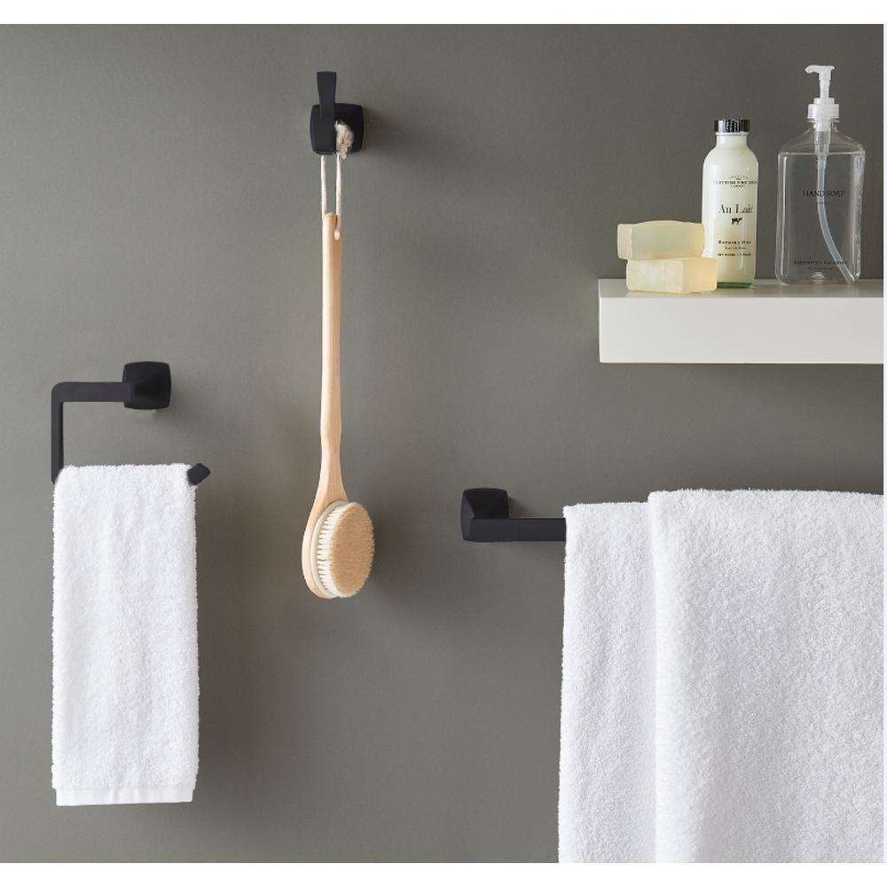 Pfister Venturi Toilet Paper Holder in Matte Black BPH-VNC0B