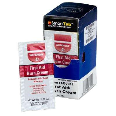 First Aid Burn Cream Packets (10 per Box)