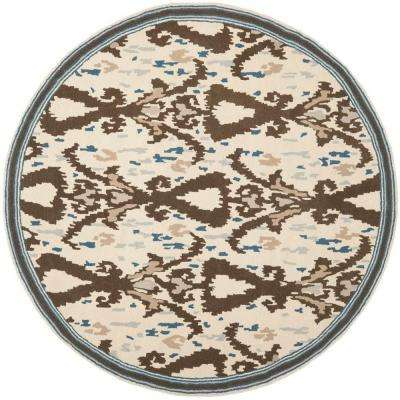 Clove 4 ft. x 4 ft. Round Area Rug