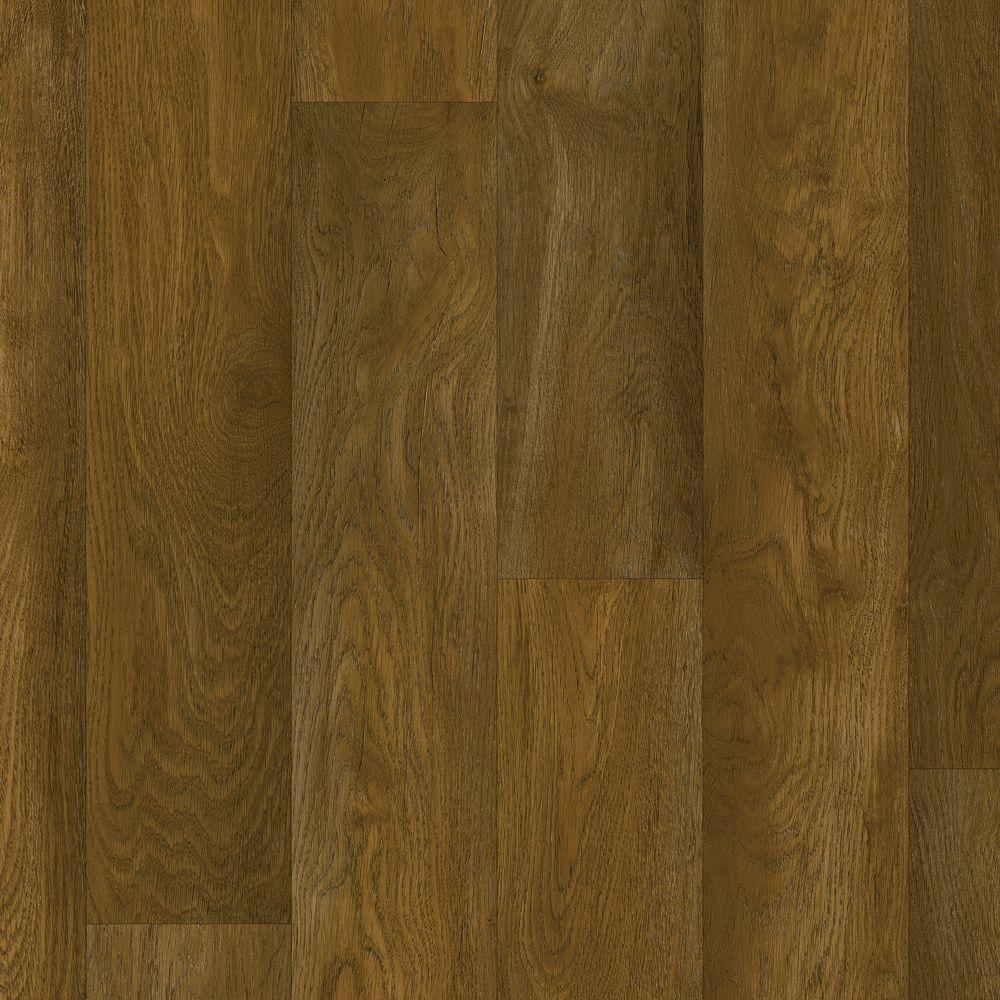 Hdx 10 ft wide weathered oak charlotte vinyl universal for Sheet vinyl flooring