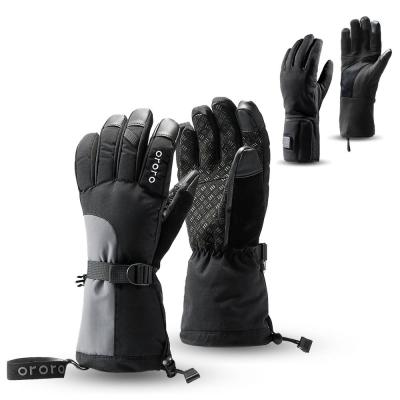 Unisex Medium 3-in-1 Rechargeable Heated Gloves with Lithium-Ion Battery and Charger (2-Pairs of Gloves)