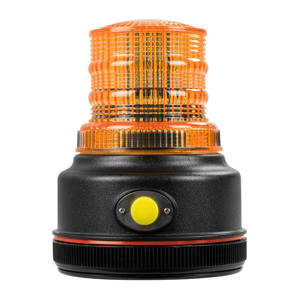 Blazer International 12 Volt 4 In Led Battery Operated Magnetic Warning Beacon