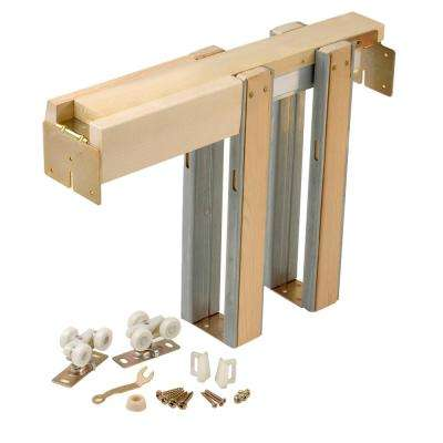 1500 Series 24 in. to 36 in. x 80 in. Universal Pocket Door Frame for 2x4 Stud Wall
