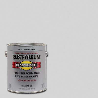 1 gal. High Performance Protective Enamel Gloss Aluminum Oil-Based Interior/Exterior Paint (2-Pack)