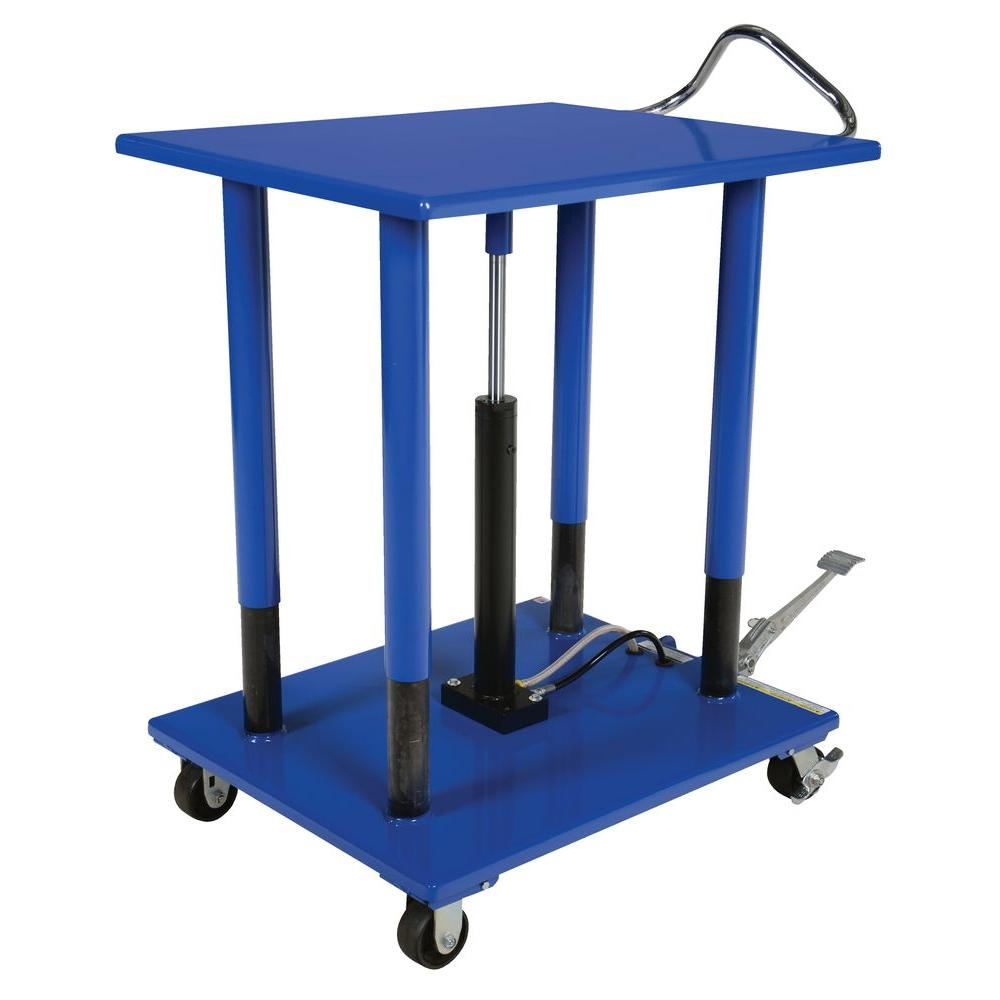 Vestil 3 000 Lb 30 In X 36 In Hydraulic Post Table Ht