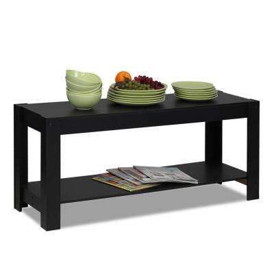 Parsons Multipurpose Black Coffee Table