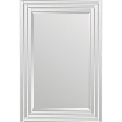 Medium Rectangle Glass Shatter Resistant Classic Mirror (24 in. H x 36 in. W)
