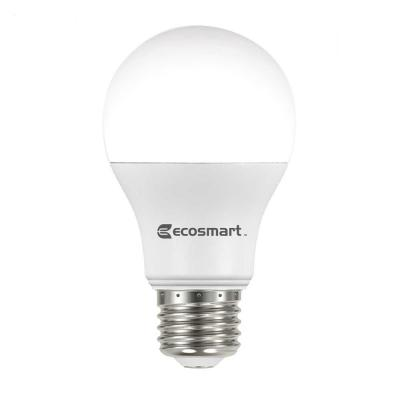 60-Watt Equivalent A19 Non-Dimmable LED Light Bulb Daylight
