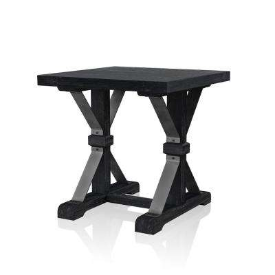 Charley Antique Black End Table