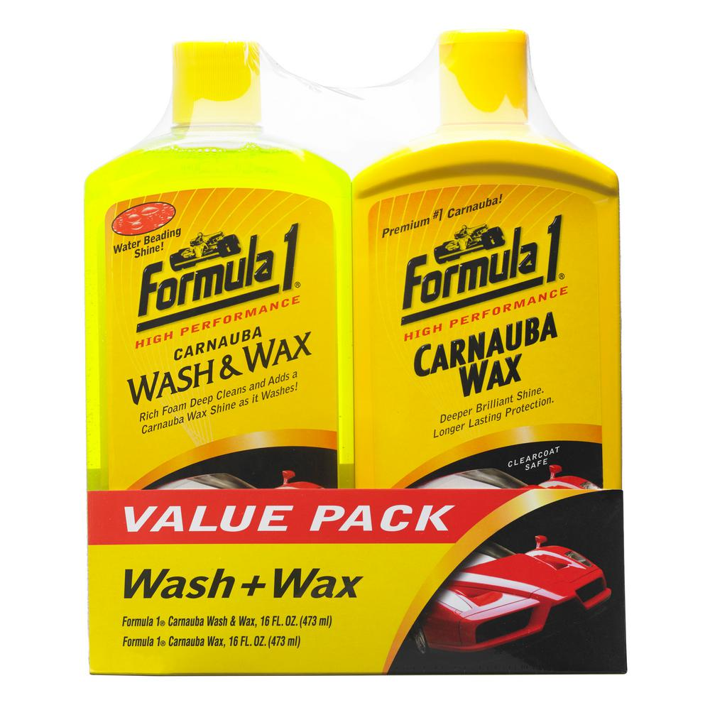 Formula 1 Wash Plus Wax Kit