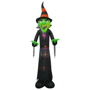 12 ft inflatable witch - Www Gemmy Com Halloween