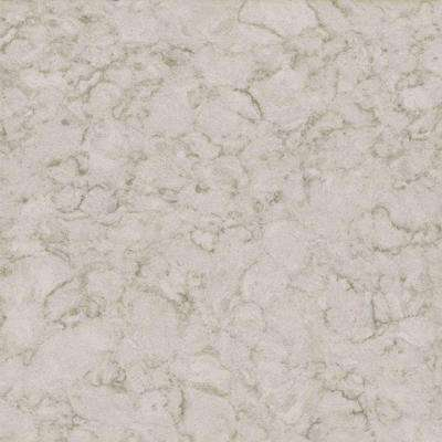 3 in. x 3 in. Quartz Countertop Sample in Snowcap