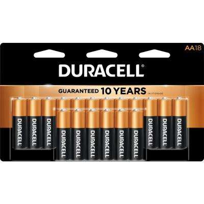 Coppertop Alkaline AA Battery (18-pack)