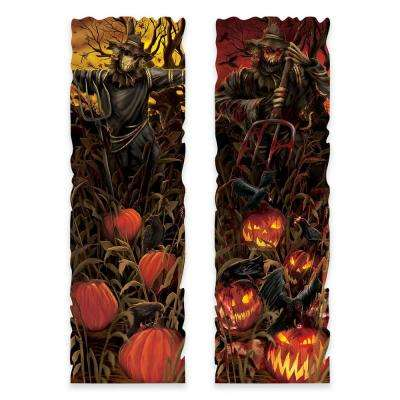 37 in. Halloween Field of Screams Lenticular Sign