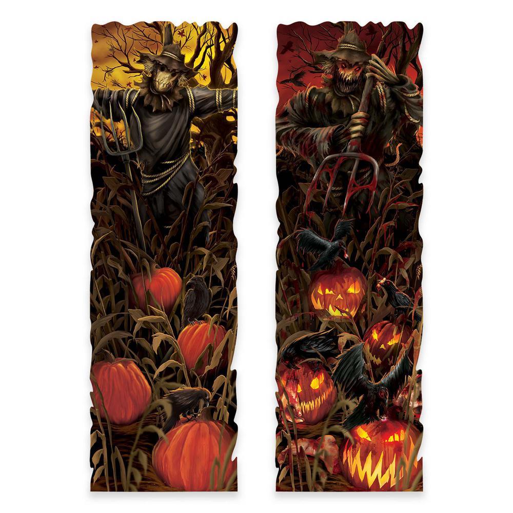 37 in. Halloween Field of Screams Lenticular Sign