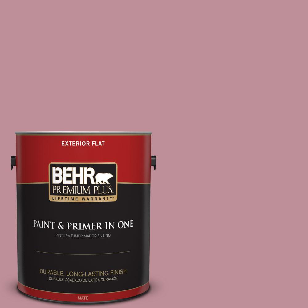 1-gal. #S130-4 Cherry Juice Flat Exterior Paint