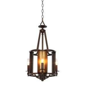 Light Chestnut Bronze Gold Chandelier