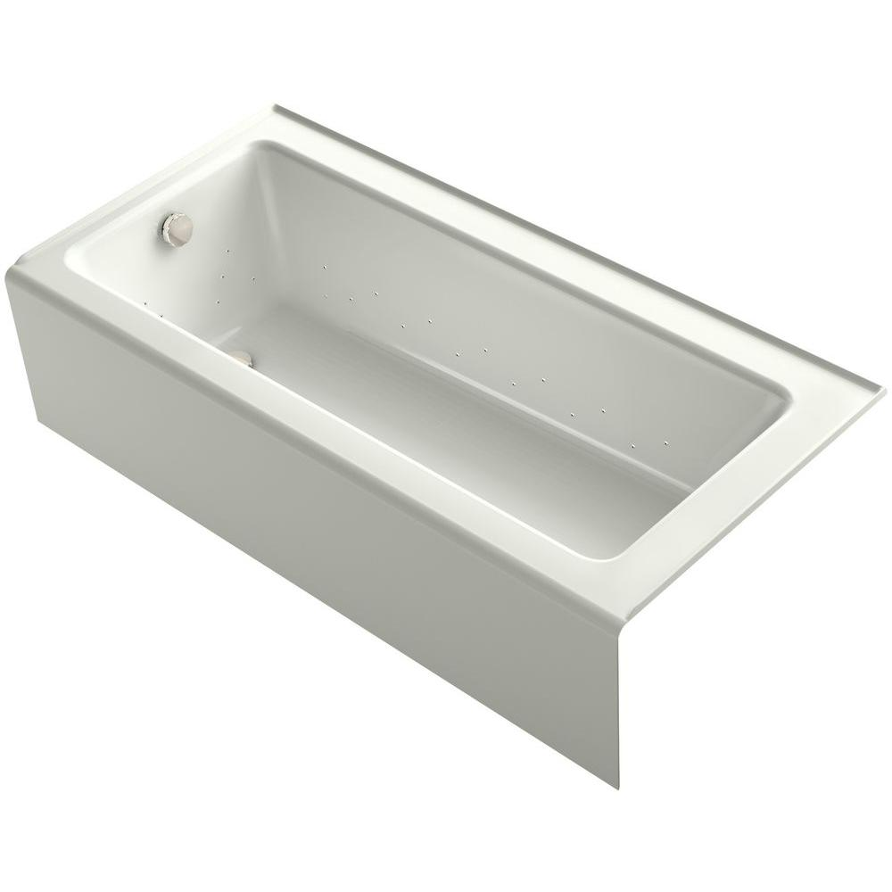 KOHLER Bellwether 5.5 ft. BubbleMassage Walk-In Whirlpool and Air ...