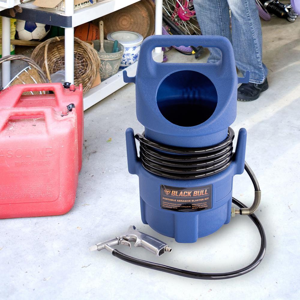 1//4/'/' NPT Portable Sand Blaster Anti Rust Sand Blaster Metal Polishing Tools