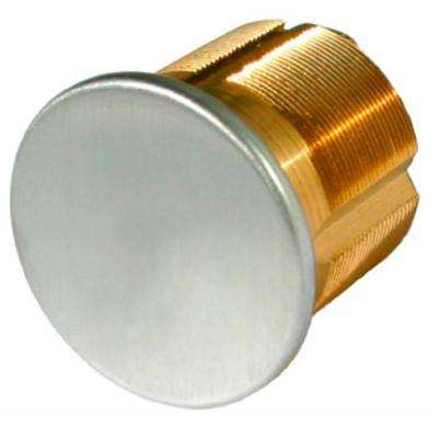 1 in. Satin Chrome Dummy Mortise Cylinder