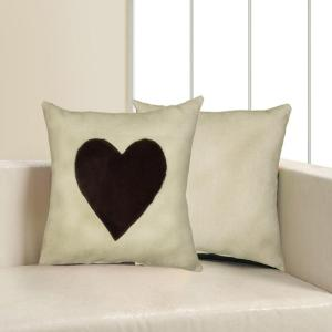 LR Resources 18 inch x 18 inch Gray Square Decorative Indoor Accent Pillow by LR Resources