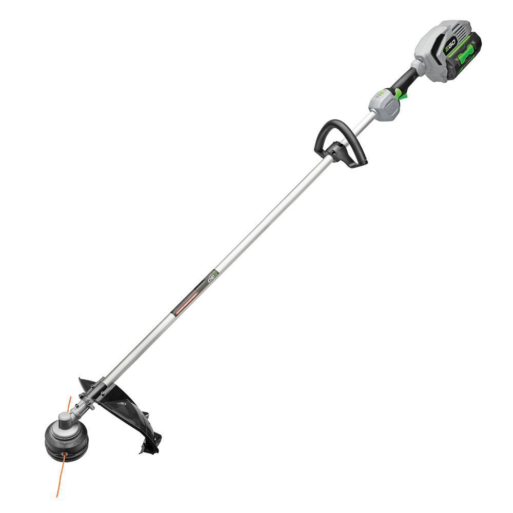 EGO 56-Volt Lithium-Ion Cordless Electric 15 in. Rear Motor String Trimmer Kit - 5.0Ah Battery, 210W Charger Included