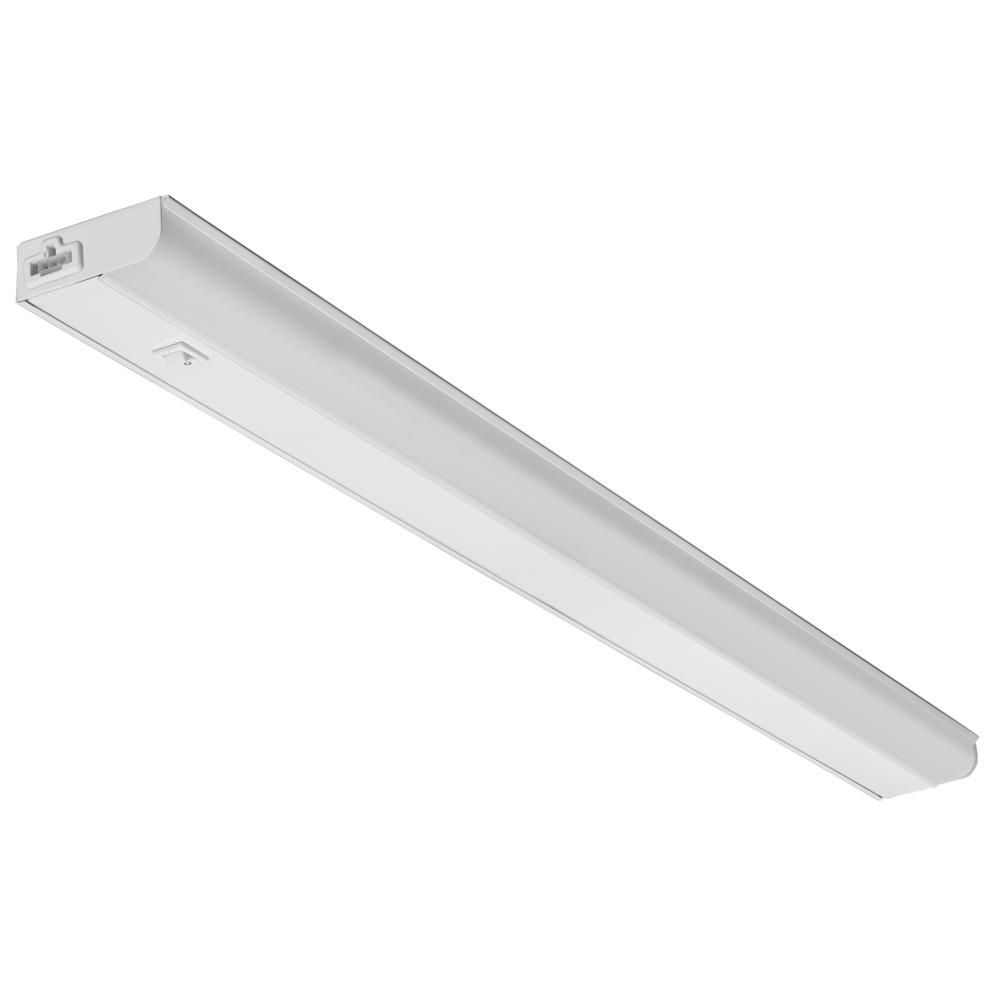 Lithonia Lighting UCEL 36 in. LED White Linkable Under Cabinet ...
