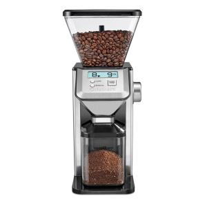 Cuisinart Deluxe Grind Conical Burr Mill, Coffee Grinder in Brushed Stainless by Cuisinart