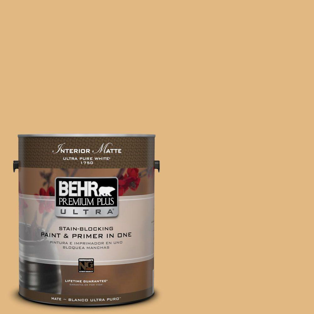 1 gal. #M270-5 Beehive Matte Interior Paint