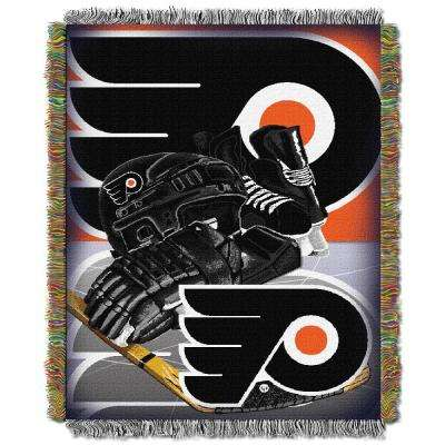 Philadelphia Flyers Polyester Throw Blanket