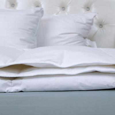 Light Warmth White Twin Goose Down Comforter