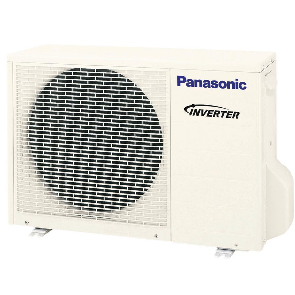 Panasonic 8700 BTU Exterios XE High SEER Mini Split Air Conditioner with Heat Pump - 230-208V/60Hz (Outdoor Unit Only)