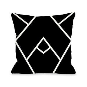 Mountain Peaks 16 in. x 16 in. Decorative Pillow