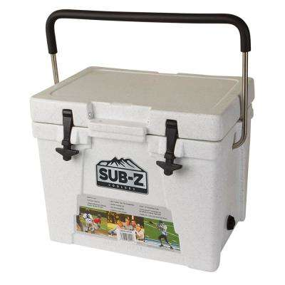 23 Qt. Hard Cooler in White