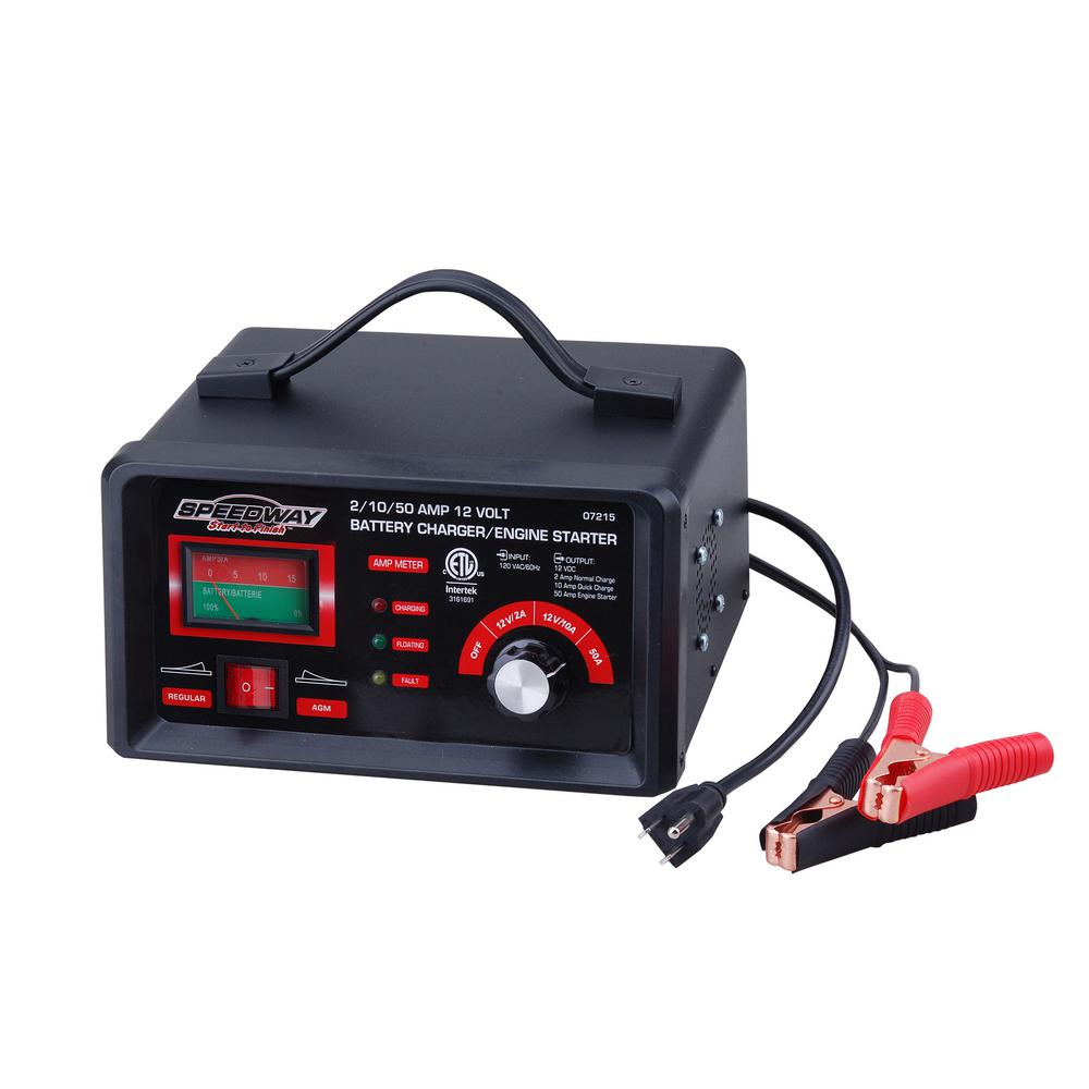 Sdway 120 Volt 2 Amp Battery Charger And Starter
