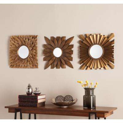 Nelam 3-Piece Decorative Mirror Set