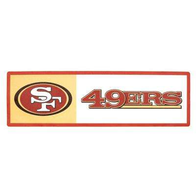 NFL San Francisco 49ers Outdoor Step Graphic