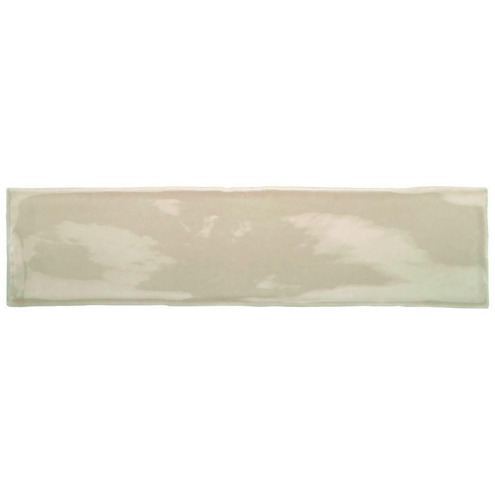 Artigiano Tremiti Sand 3 in  x 12 in  Glazed Ceramic Wall. Daltile Santa Barbara Pacific Sand 12 in  x 12 in  Ceramic Floor