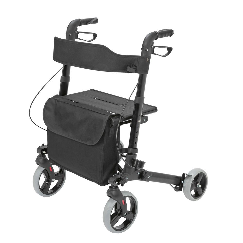 BRIGGS Gateway Rollator in Black