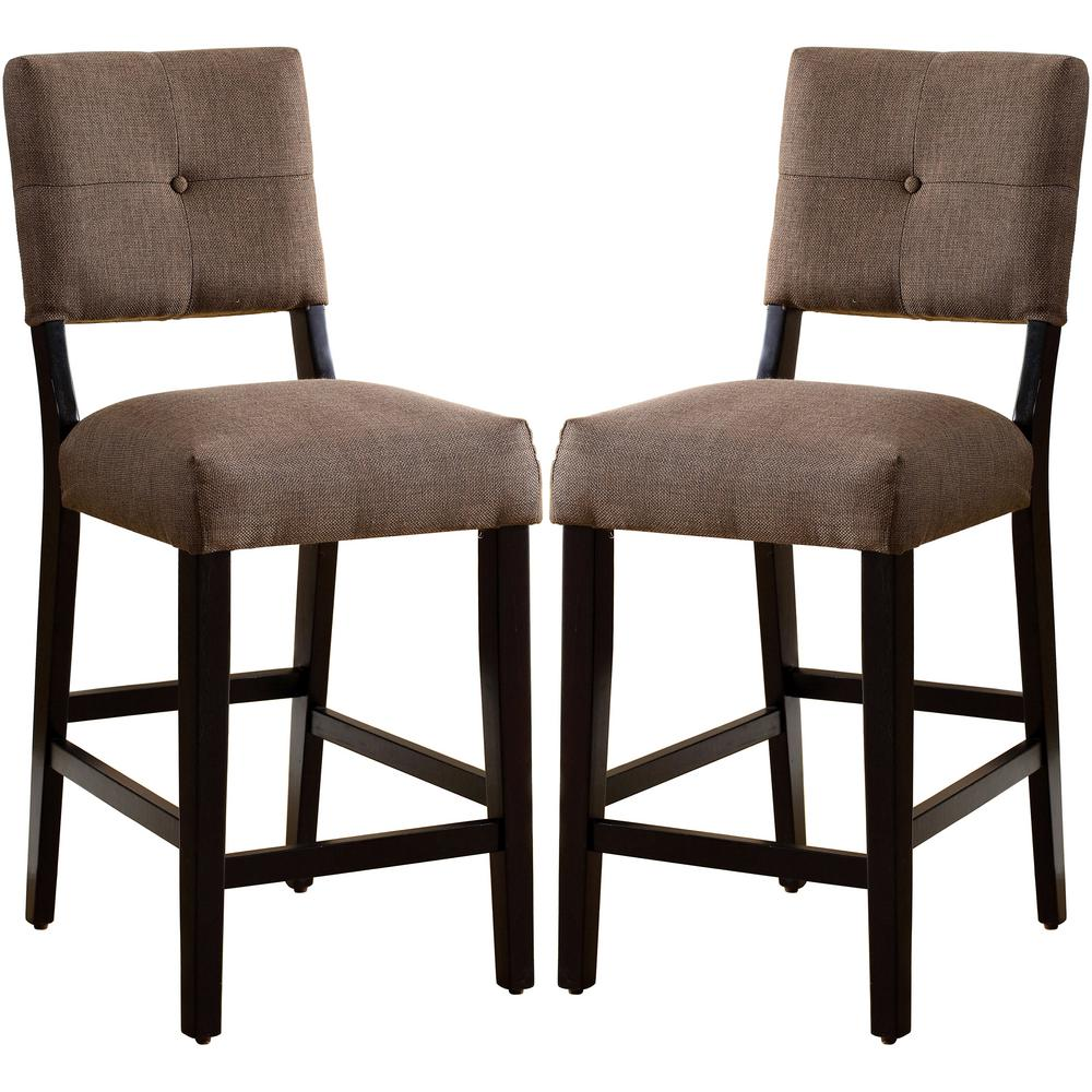 Venetian worldwide priscilla i antique oak dining chair set of 2
