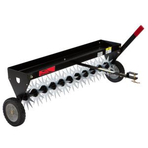 Brinly-Hardy 40 inch Tow-Behind Spike Aerator with Transport Wheels by Brinly-Hardy