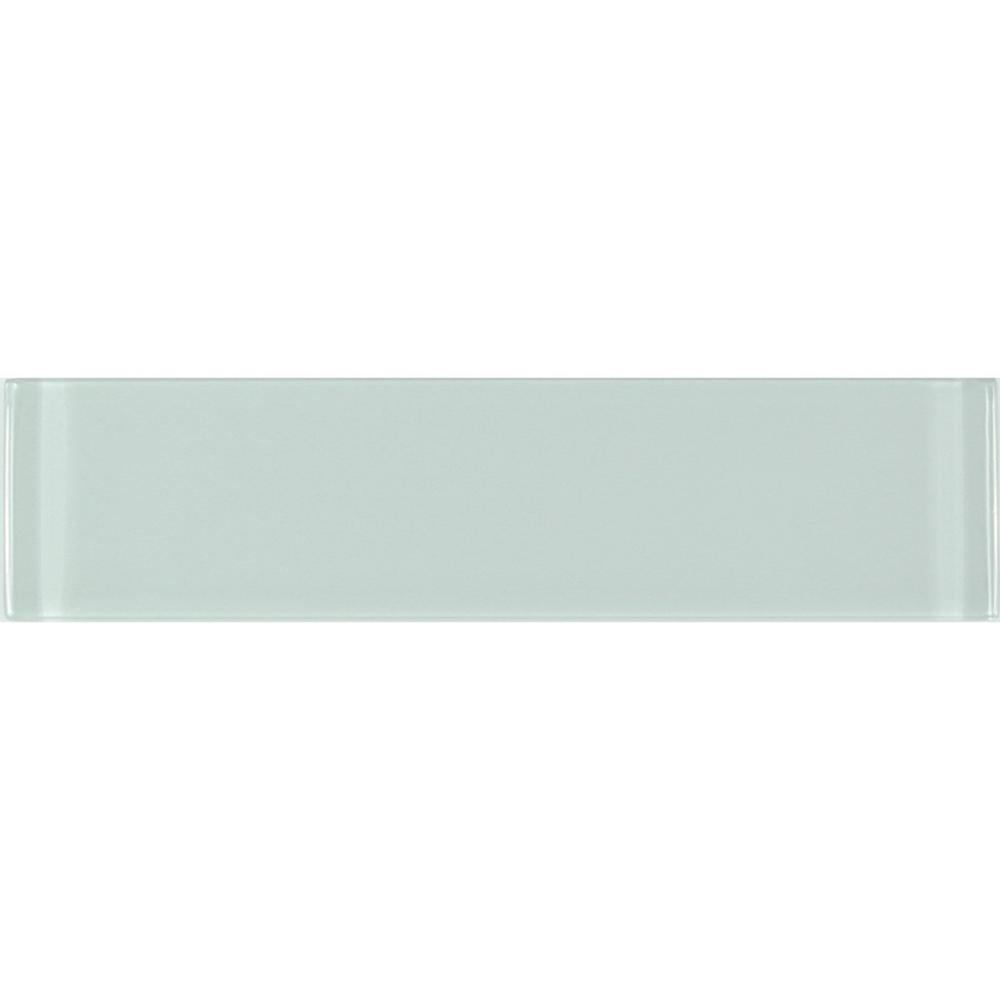 Metro 3 in. x 12 in. Arctic Blue Green Glass Peel